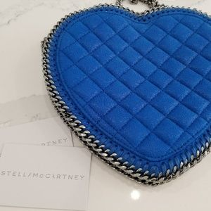 Stella McCartney 'falabella Heart' Quilted Blue
